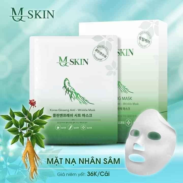 Mặt nạ nhân sâm MQ Skin