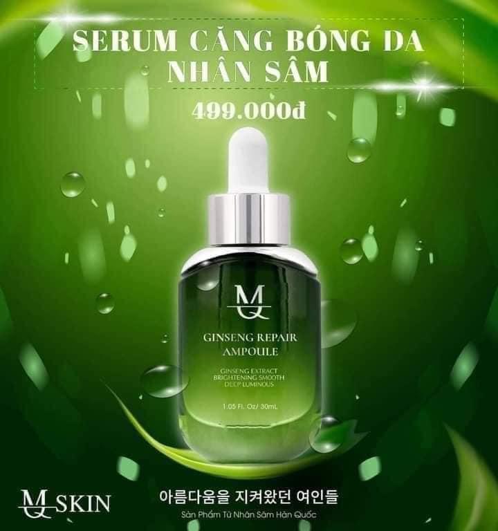 Serum căng bóng da nhân sâm MQ Skin